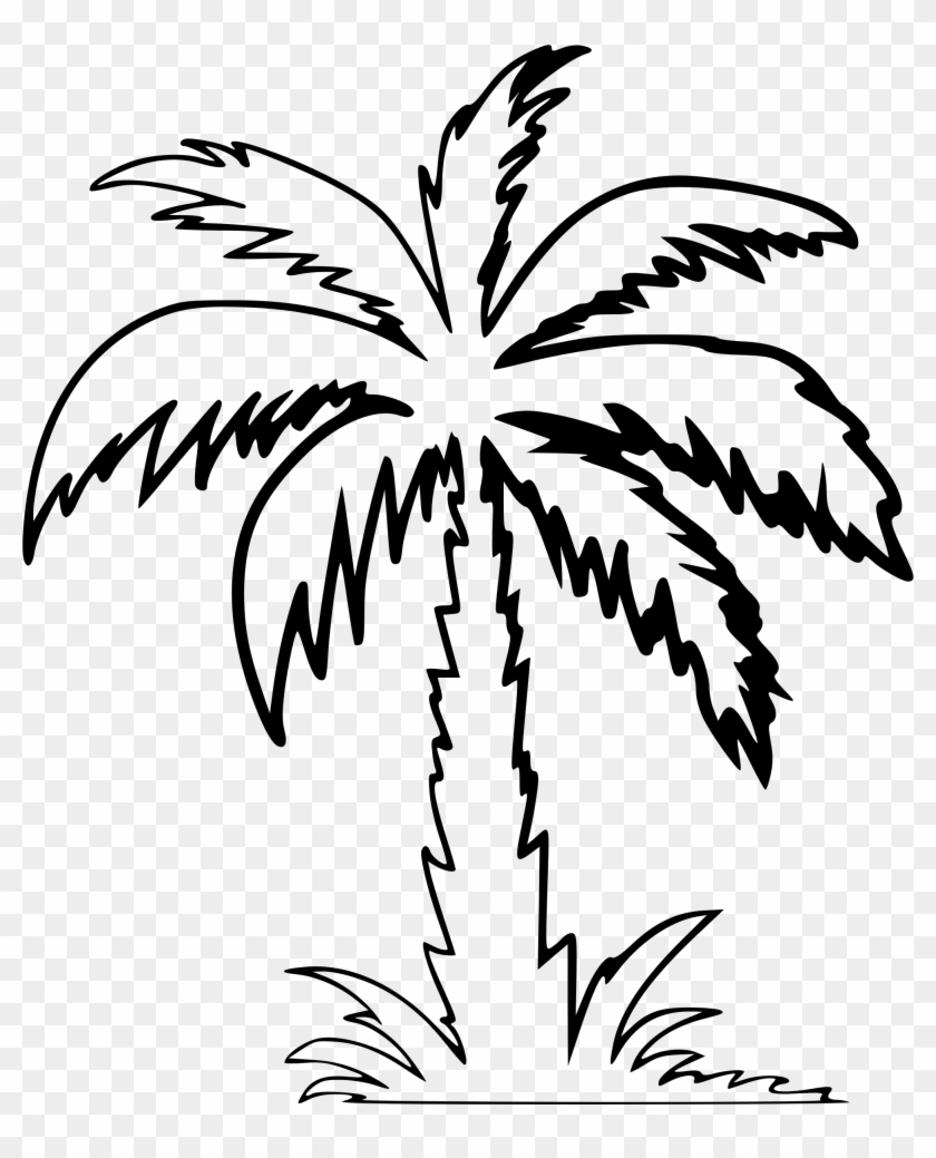 Clipart - Palm Tree Clip Art #2454