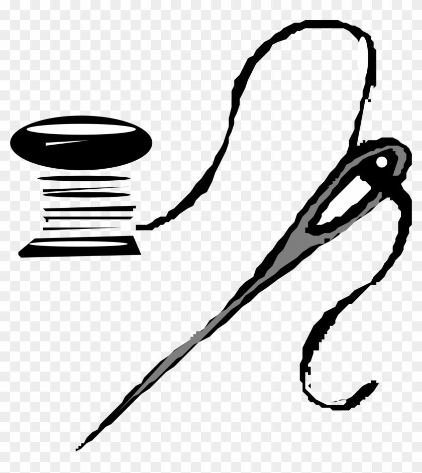 Big Image - Needle And Thread Clip Art #2468