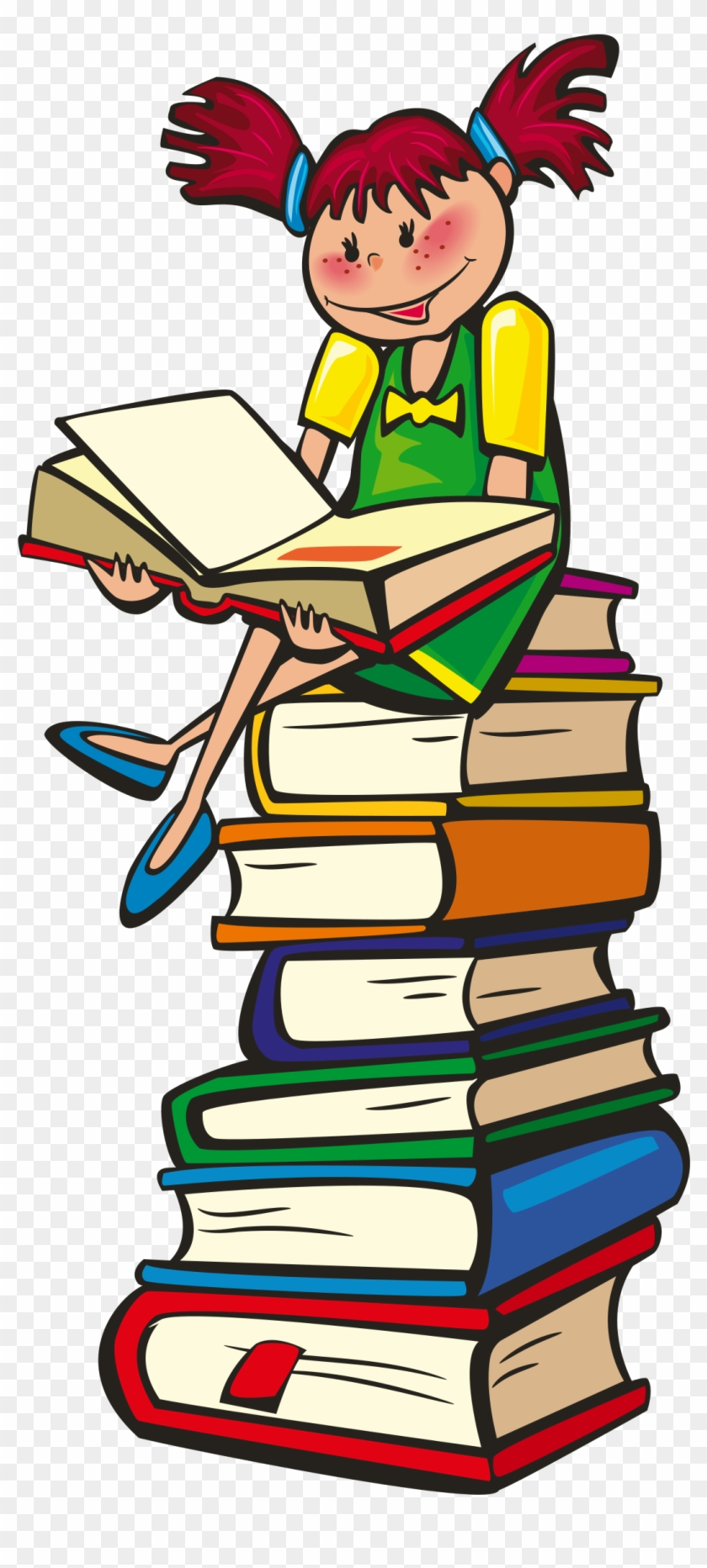 Big Image - Reading Book Clipart #2515