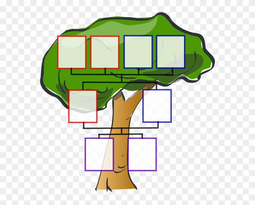 Totetude Family Tree Two Kids Clip Art - Family Tree Of 8 #2546