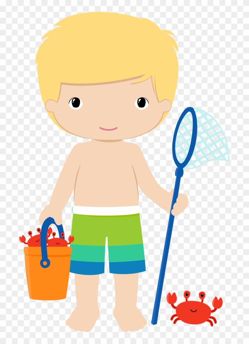 Pin By Lizet Delgado On Niños - Beach Boy Clipart #2542