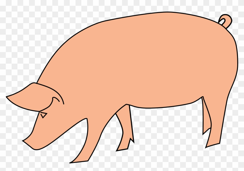 Pictures Of Pig Clip Art Pig Clip Art Wallpapers - Baboy Clipart #2552