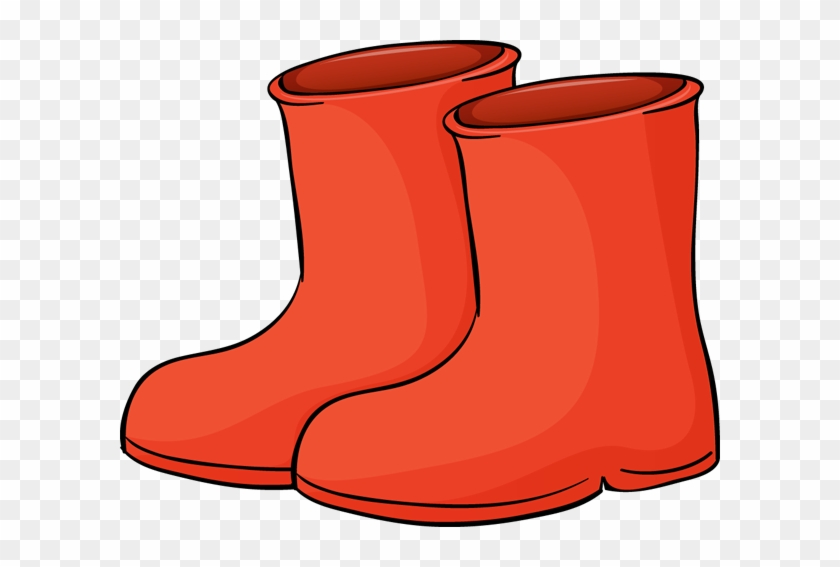 Red Boots Clipart #2593