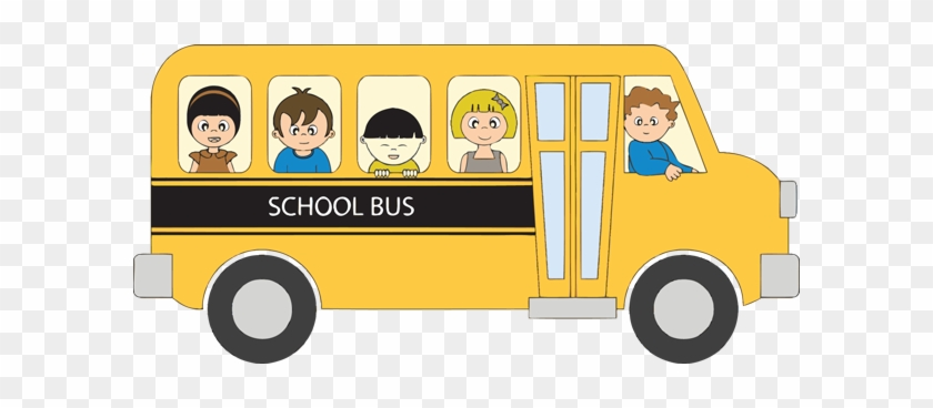 School Bus Clip Art For Kids Free Clipart Images - School Bus Vector #2610