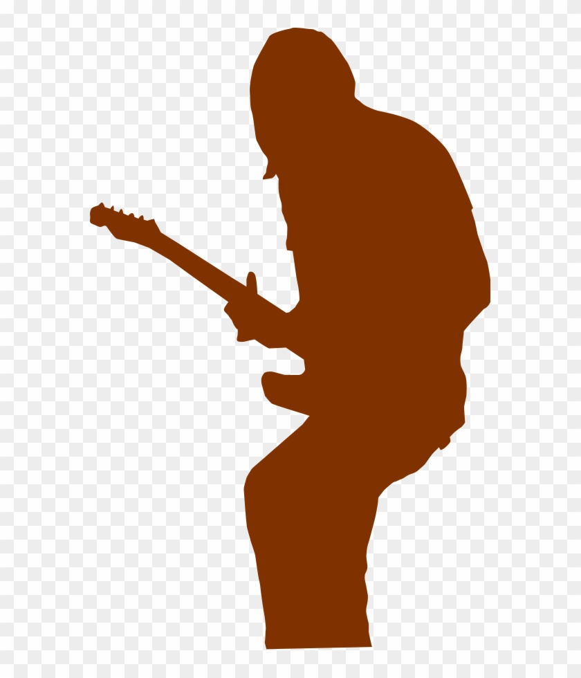 Cheer 2 Fans Medium 600pixel Clipart, Vector Clip Art - Guitar Player #2619