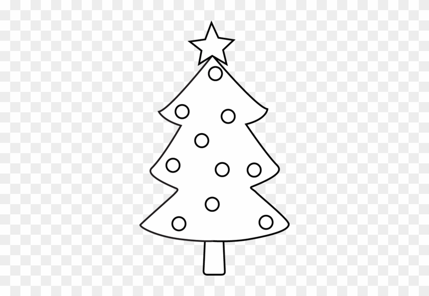 Black And White Christmas Tree - Black And White Christmas Tree #260