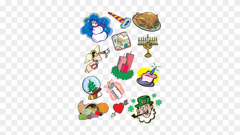 15 Holiday Clip Art And Images - Different Holidays Clip Art #2653