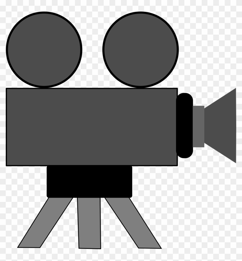 Clipart Luxury Inspiration Movie Camera Clipart Big - Video Camera Clip Art #2731