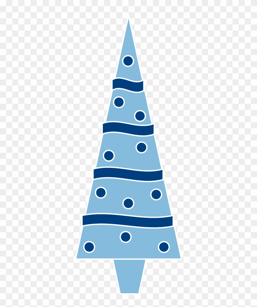 Blue Christmas Tree Clipart Clipartxtras - Christmas Tree Clip Art Blue #2705