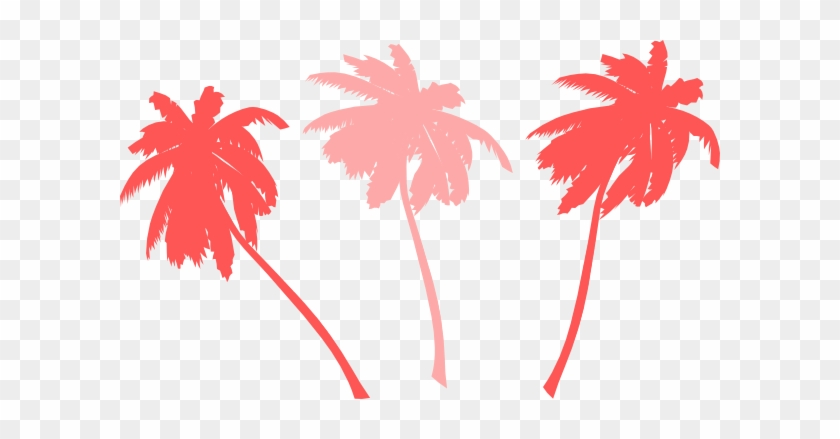 Vector Palm Trees Svg Clip Arts 600 X 359 Px - Palm Tree Clip Art #2720