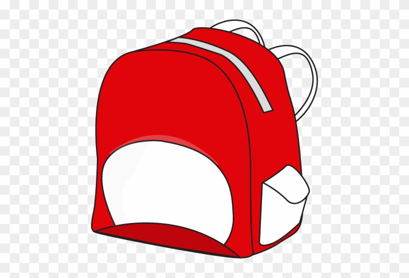 This School Backpack Clip Art Free Clipart Images - Clip Art Red Backpack #2753