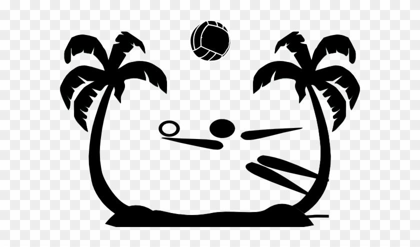 Beach Volleyball Net Clipart - Sand Volleyball Clip Art #2733