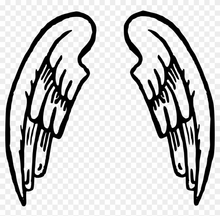 Clip Art Details - Cartoon Angel Wings #2738