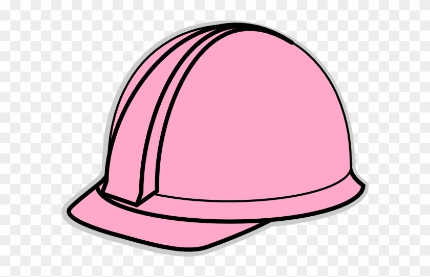 Pink Hard Hat Clip Art #2762