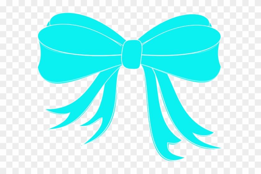 Turquoise Bow Ribbon Clip Art - Tiffany And Company Bow #2778