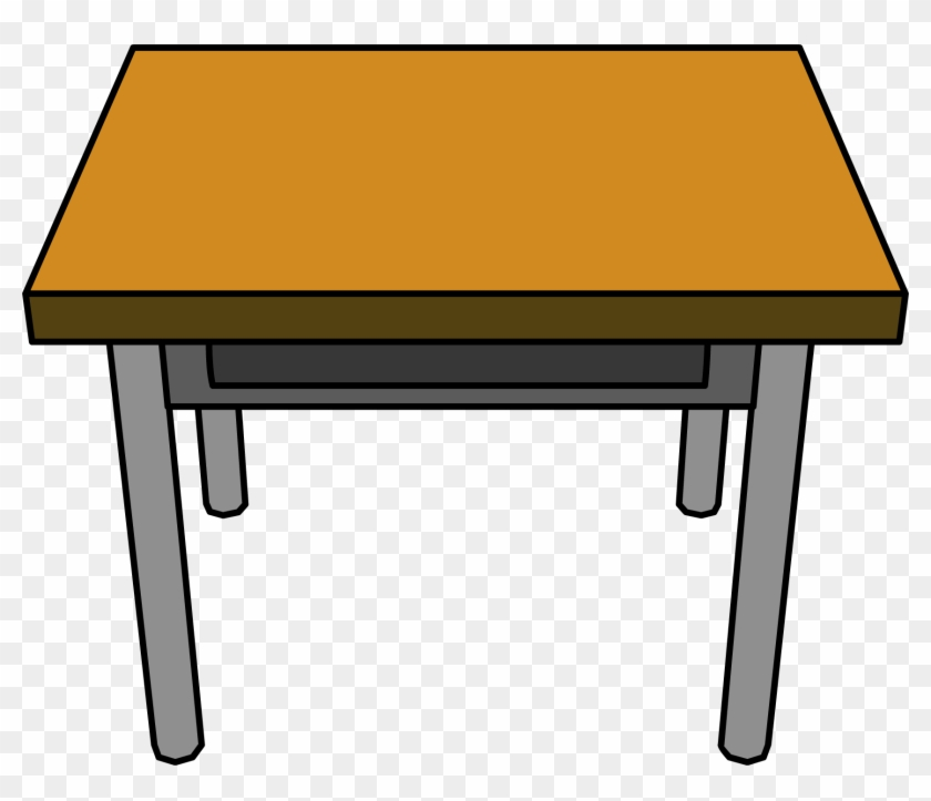 Desk School Cliparts Free Download Clip Art On Clipart - Table Clipart #2789
