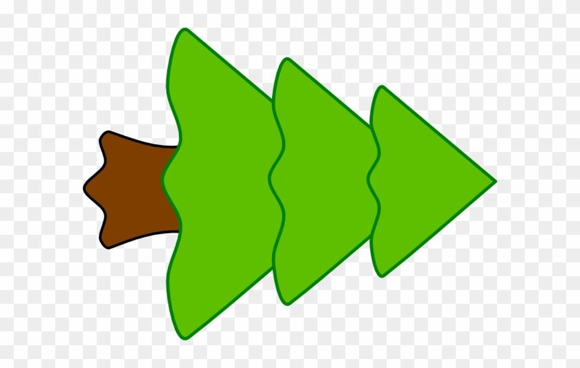 3 Layer Fir Tree Clip Art At Clker - Fir Tree Clip Art #2792