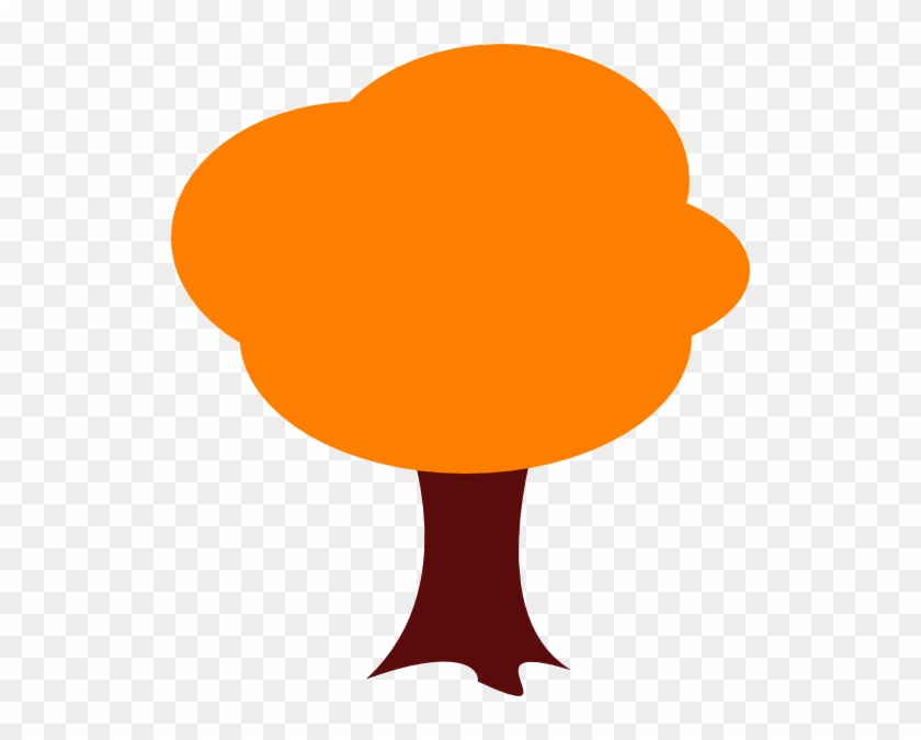 Orange Tree Clip Art - Cartoon Orange Trees Png #2783