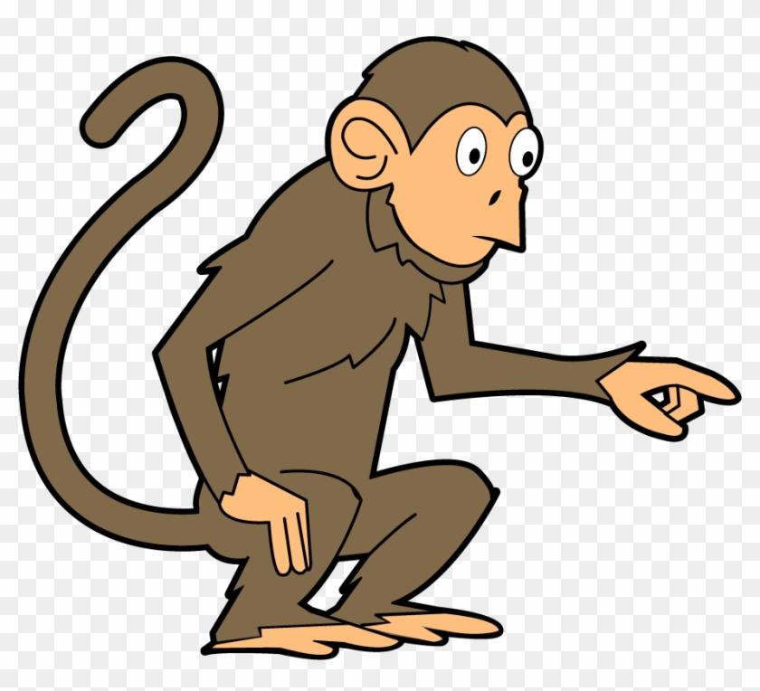 Monkey - Clipart - Monkey Clip Art Png #2799