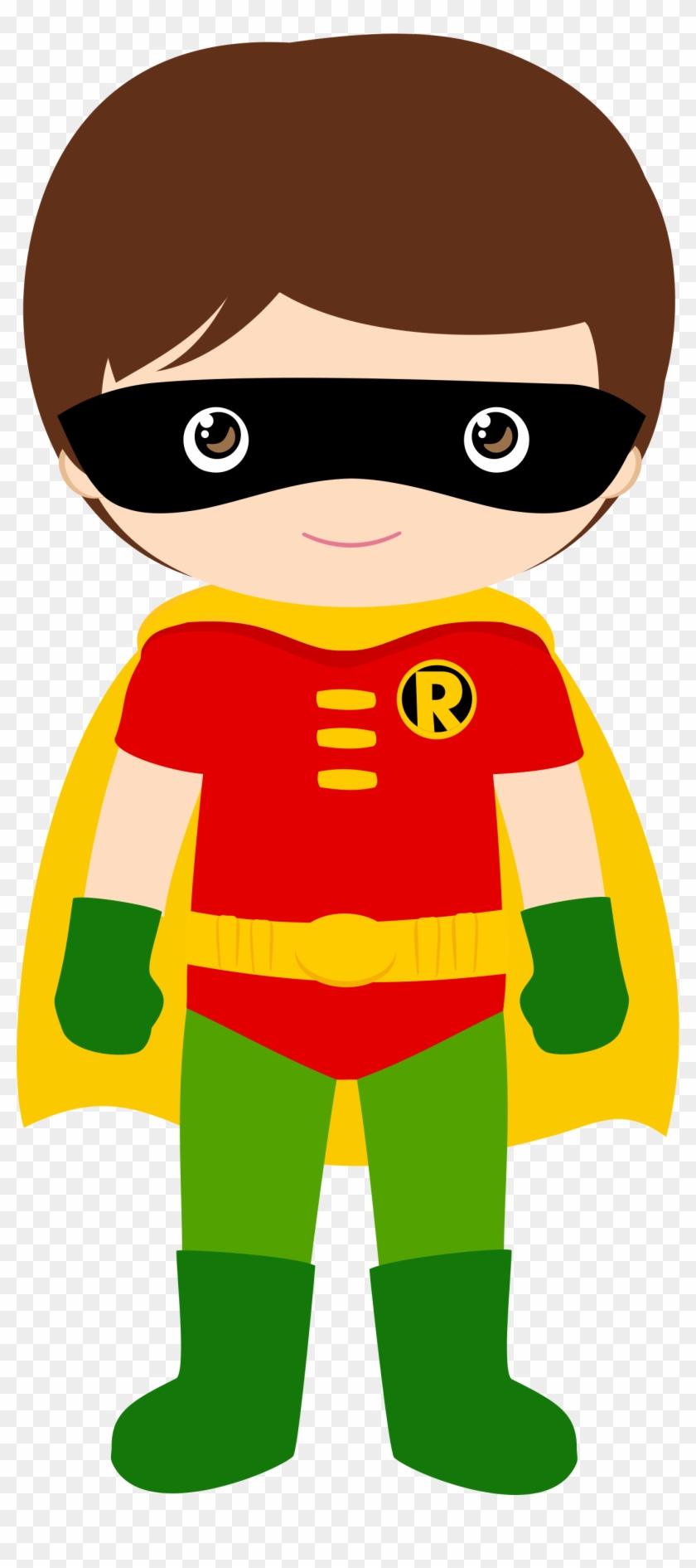 Robin - Batman Robin Clipart #2796