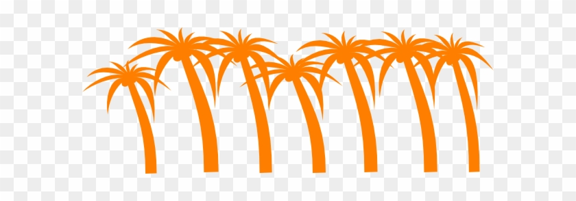 Palm Tree Clip Art At Clker - Palm Tree Clip Art #2817
