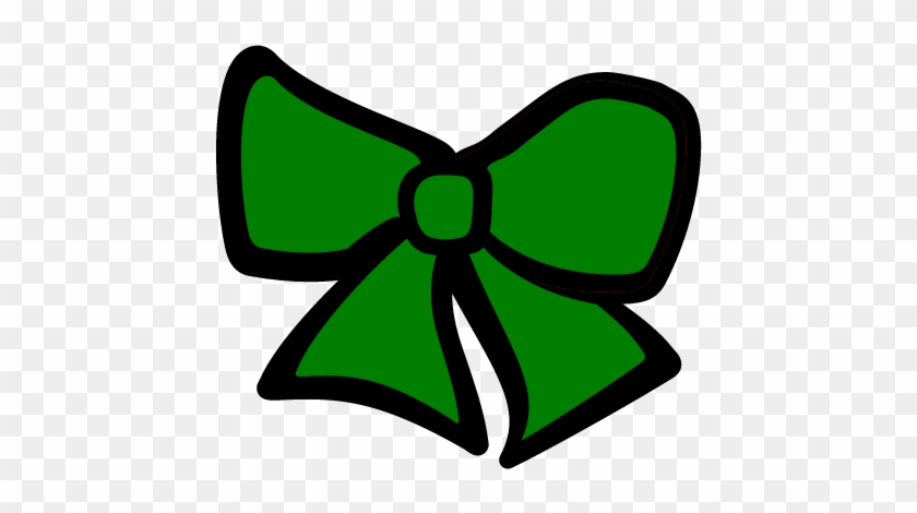 Green Cheer Bow - Green Cheerleading Clip Art #2832
