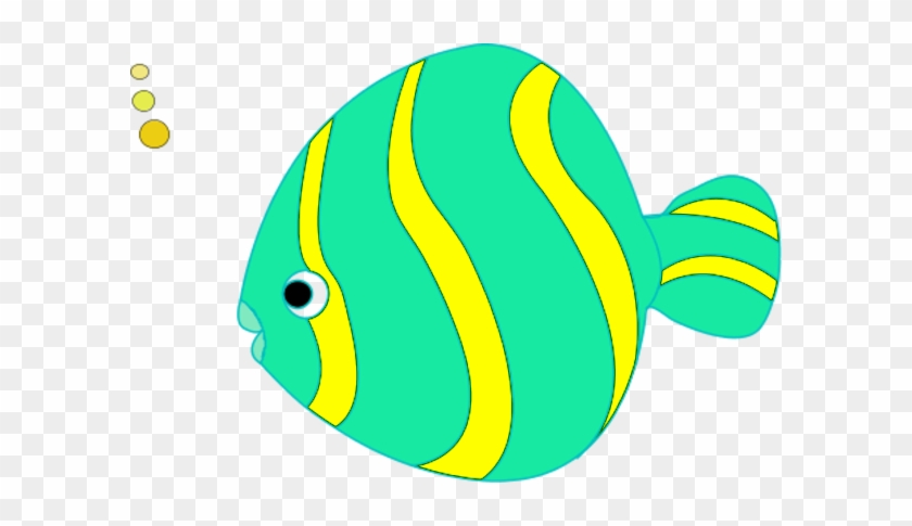 Transparent Fish Clipart - Coral Reef Fish #2849