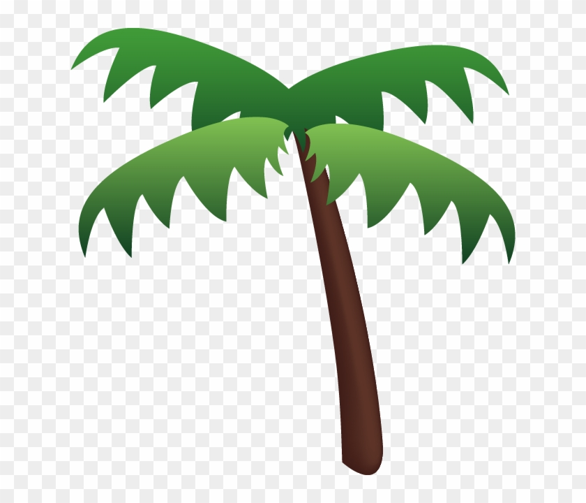 Download Palm Tree Emoji Icon - Palm Tree Emoji Png #2852