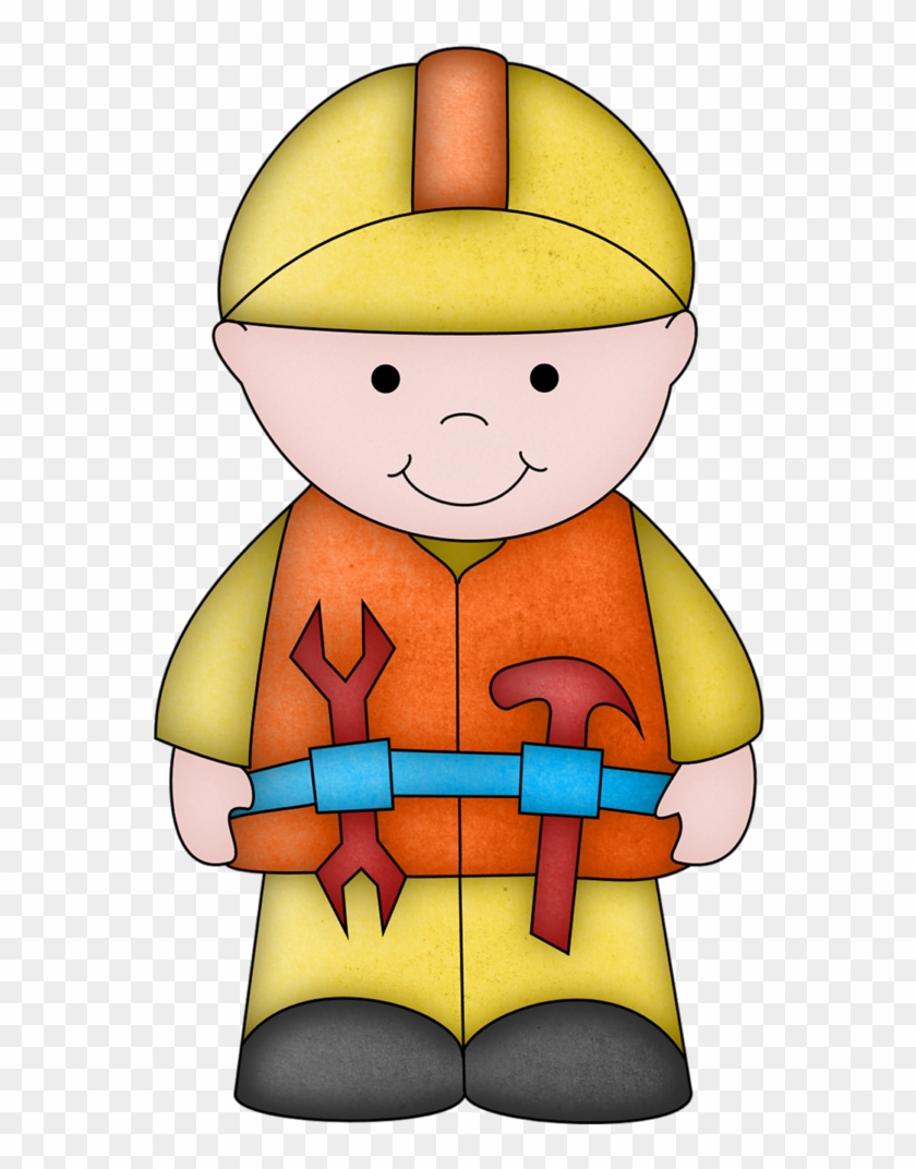 Kid Construction Worker Clipart #2882