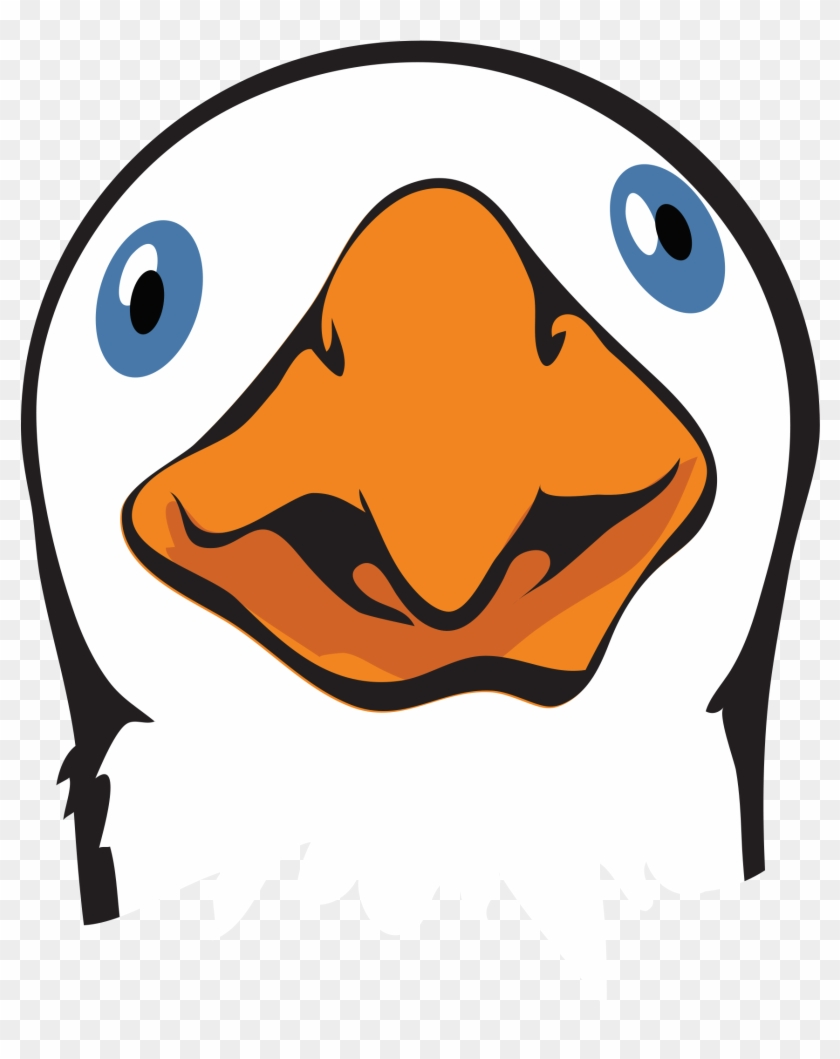 Goose Animal Clip Art Public Domain Free Image Cc Png - Goose Head Clipart #2874