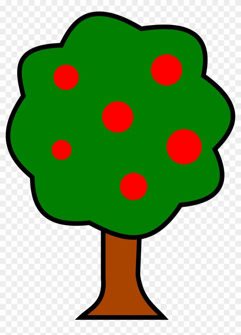 Big Image - Clip Art Fruit Tree #2896