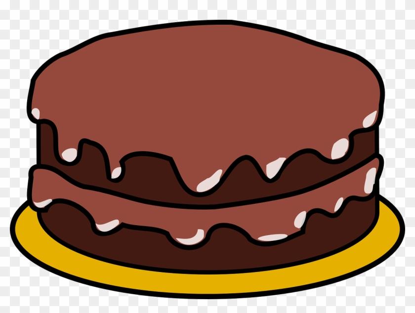 Cake Clip Art At Vector Clip Art Free - Birthday Cake Clip Art #2916