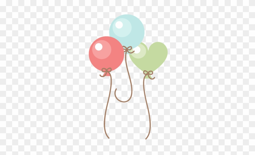 Baby Balloons Svg Scrapbook Cut File Cute Clipart Files - Baby Scraps Png #2899