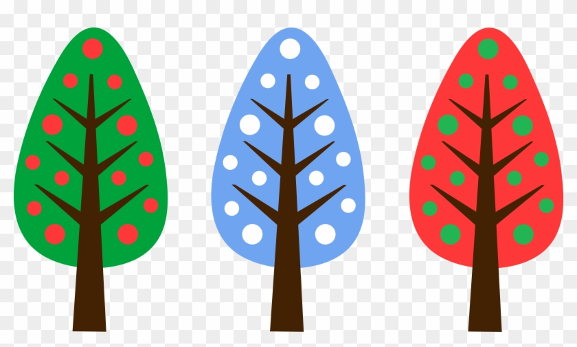Cute Unique Christmas Tree Designs - Cute Clip Art Designs #2957