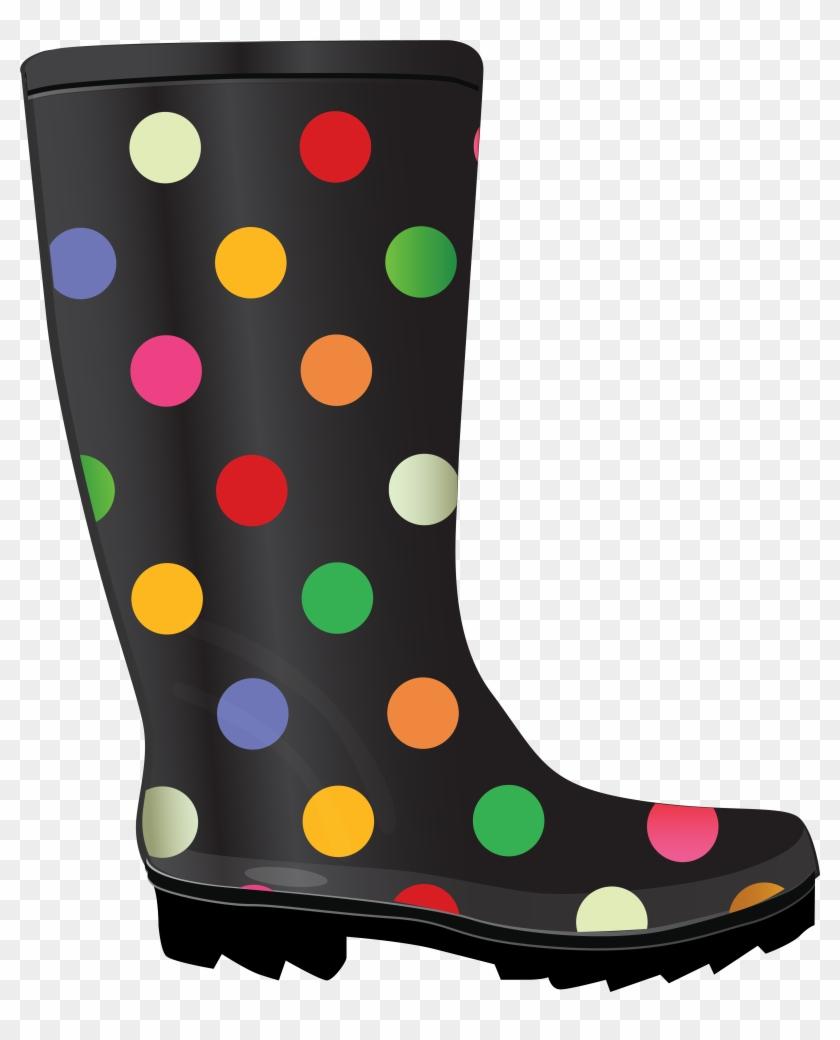Boots Clip Art - Rain Boot Clipart #2972