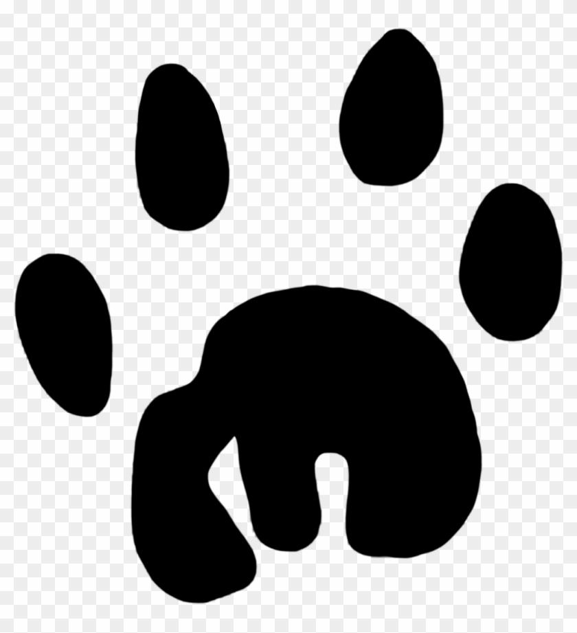 Pleasant Design Ideas Clipart Paw Print Lion Clip Art - Koala Footprint #2923