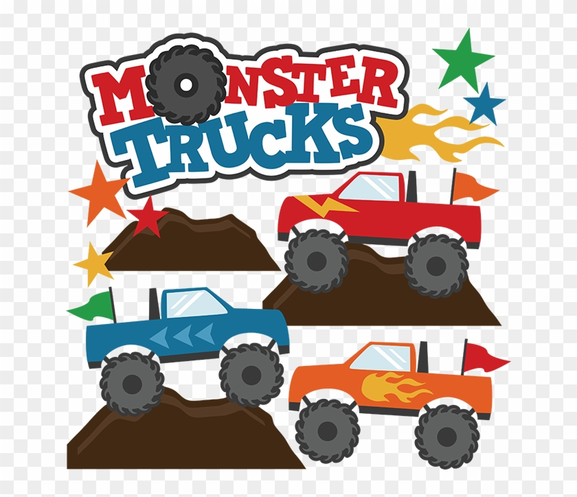 Monster Truck Clip Art Pictures Free Clipart Images - Monster Truck Svg File #2990