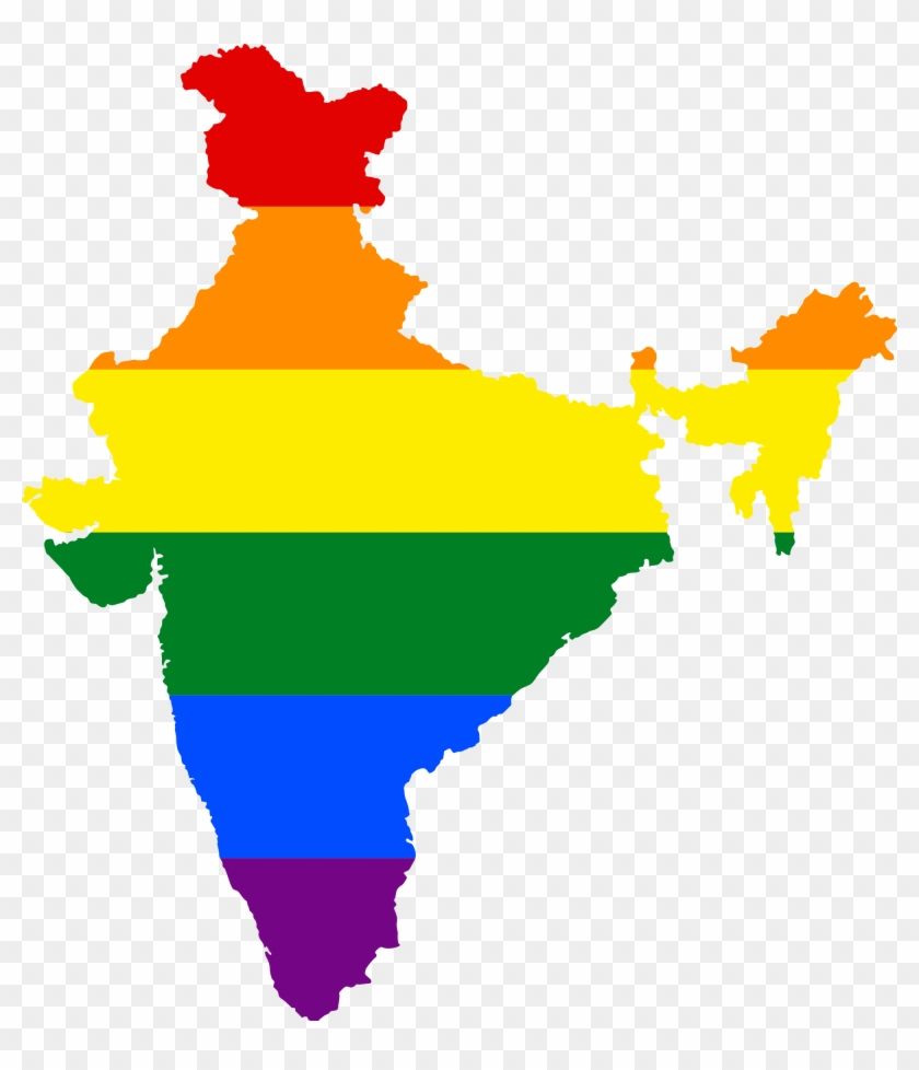 File - Lgbt India Map #2963