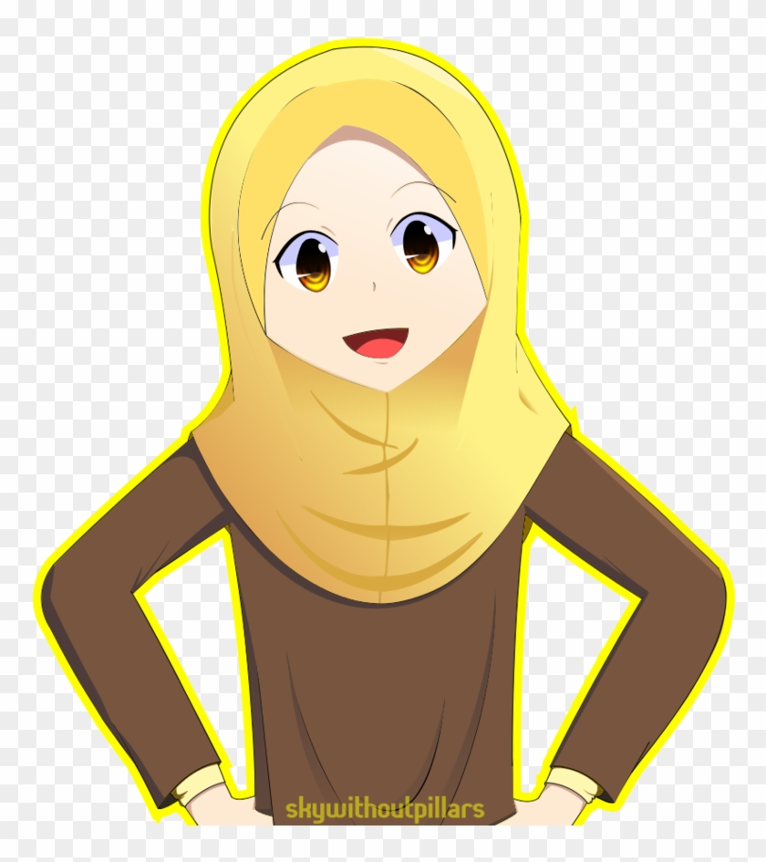 Clipart Hijab Girl In By On Deviantart - Comics #2970