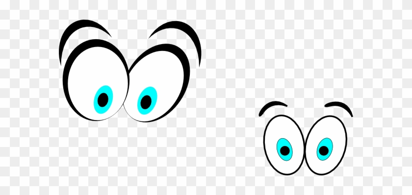Clipart Cartoon Eyes Cartoon Eyesstraight On Clip Art - Cartoon Eyes Clip Art #2954