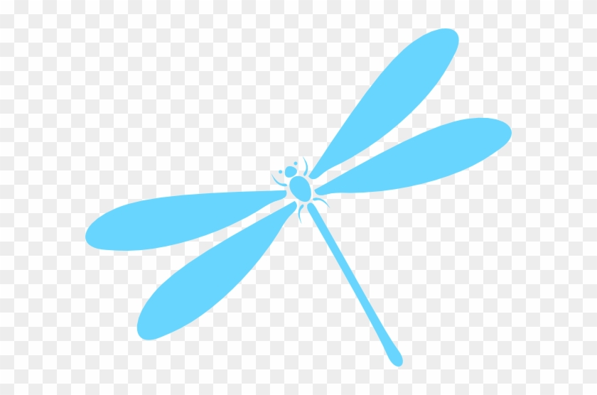 Dragonfly In Flight Clip Art - Dragonfly Clipart Transparent #2986