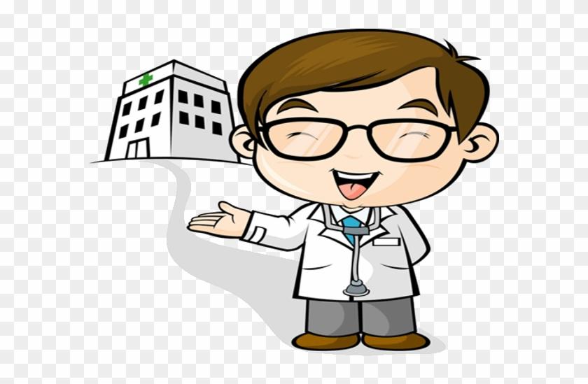 Doctor Who Clipart Cartoon - Doctor Cartoon Clipart #2998