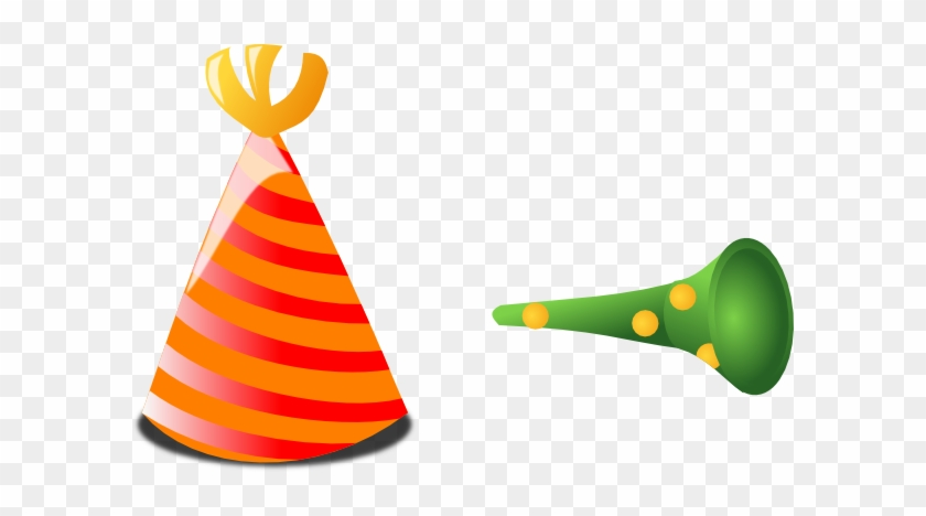 Birthday Hat Transparent Background Free Clipart Clipart - Birthday Horn Png #3009