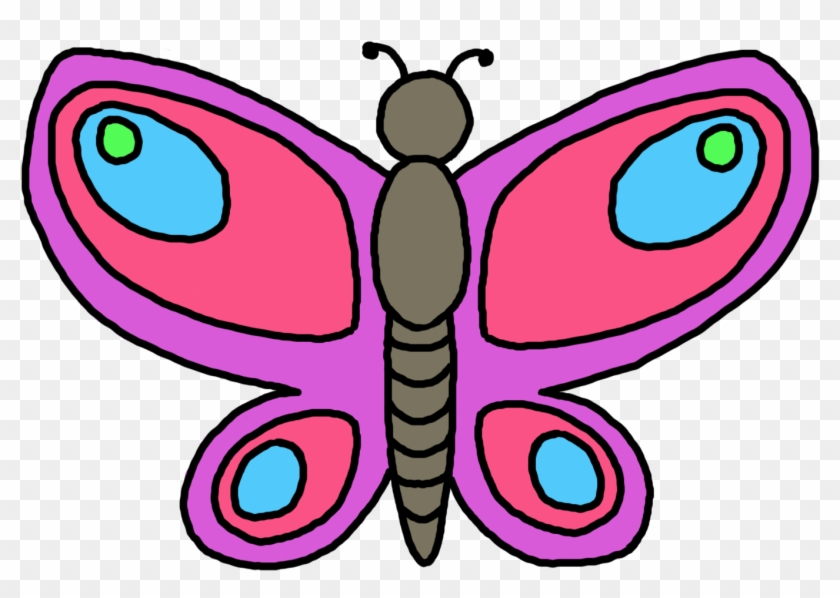 Butterfly Clip Art - Clipart Of A Butterfly #3074