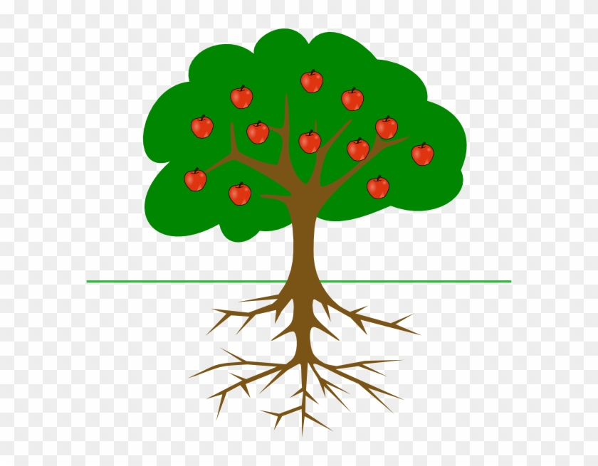 Apple Tree Svg Cutting Files - Tree Clip Art #3068