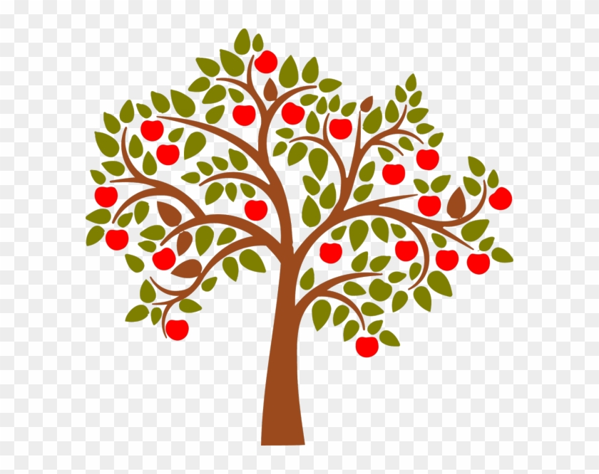 Apple Clip Art - Apple Tree Clipart #3105