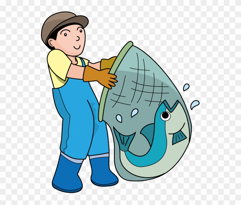 Fishing Clipart On Clip Art Fishing And Fish Clipartcow - Fisherman Clip Art #3127