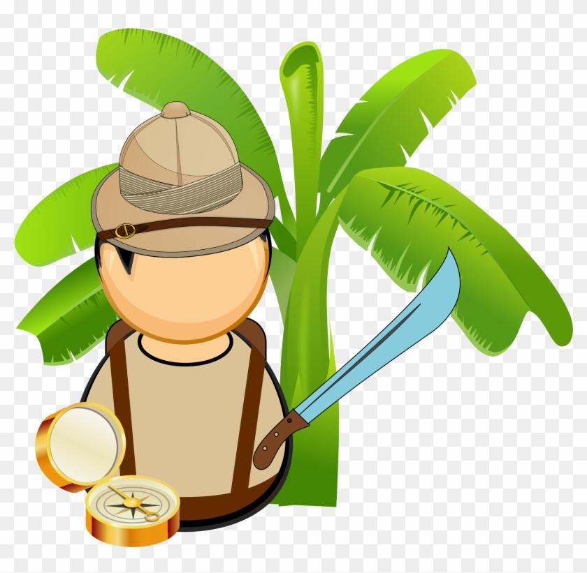 Jungle Vector Png - Jungle Clip Art #3162