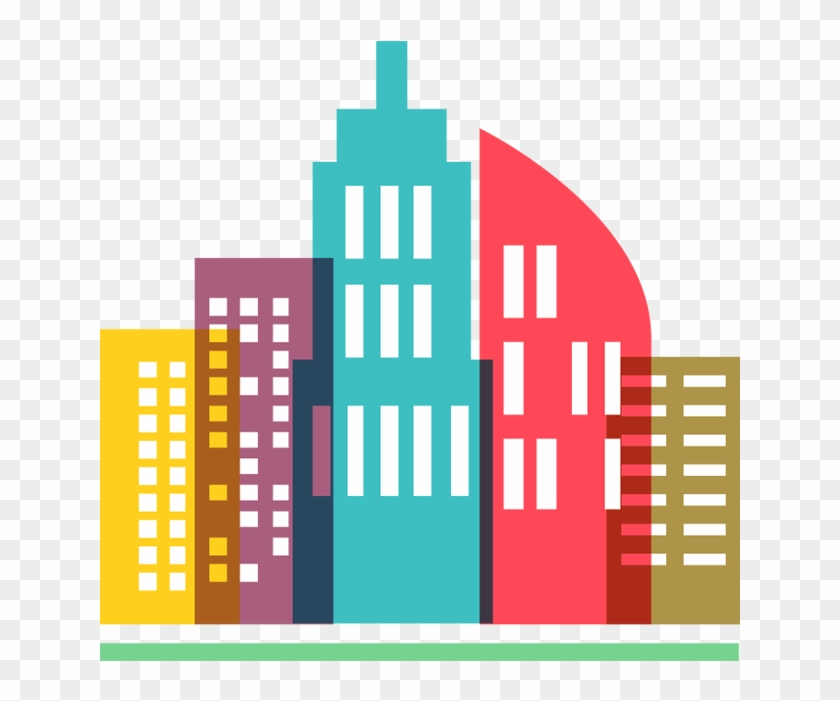 See Here Building Clipart Vector Free Download - Visakhapatnam As Smart City #3184