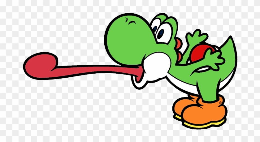 Yoshi Mario Coloriage A Imprimer Free Transparent Png Clipart